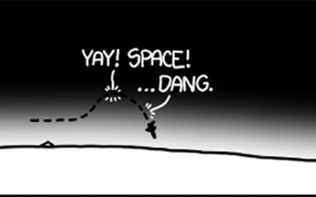 Orbital Velocity… and great analogies