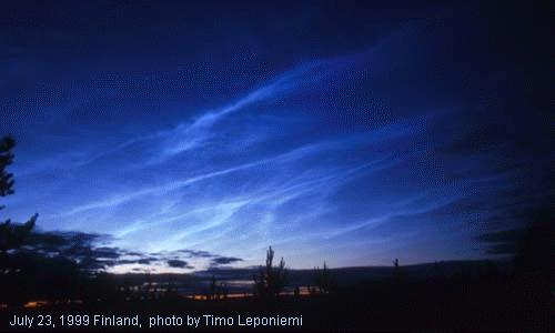 Noctilucent Clouds and you