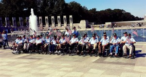 A Company of Heroes at the WWII Memorial