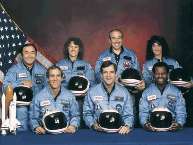 STS-51L crew