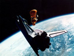 STS-51 ACTS=TOS Deploy
