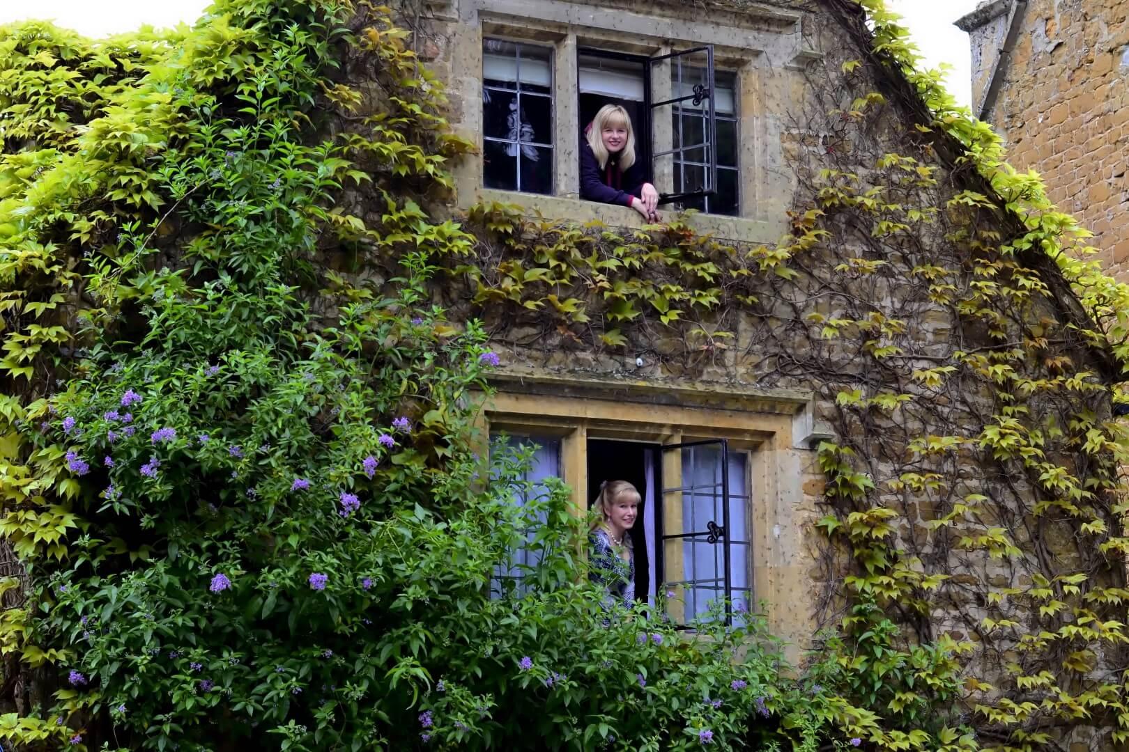 Kathy and LeAnn - Charingworth windows