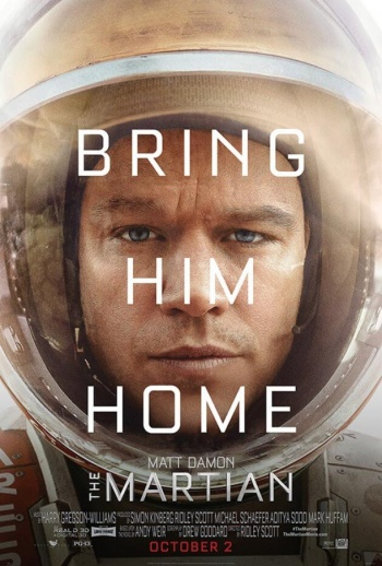The Martian - poster