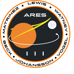 Ares III mission patch