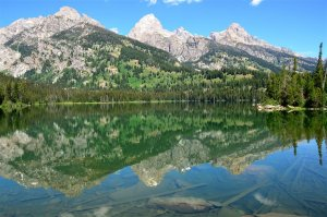 Taggart Lake – Teton reflections
