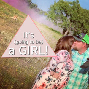 Going to be a girl
