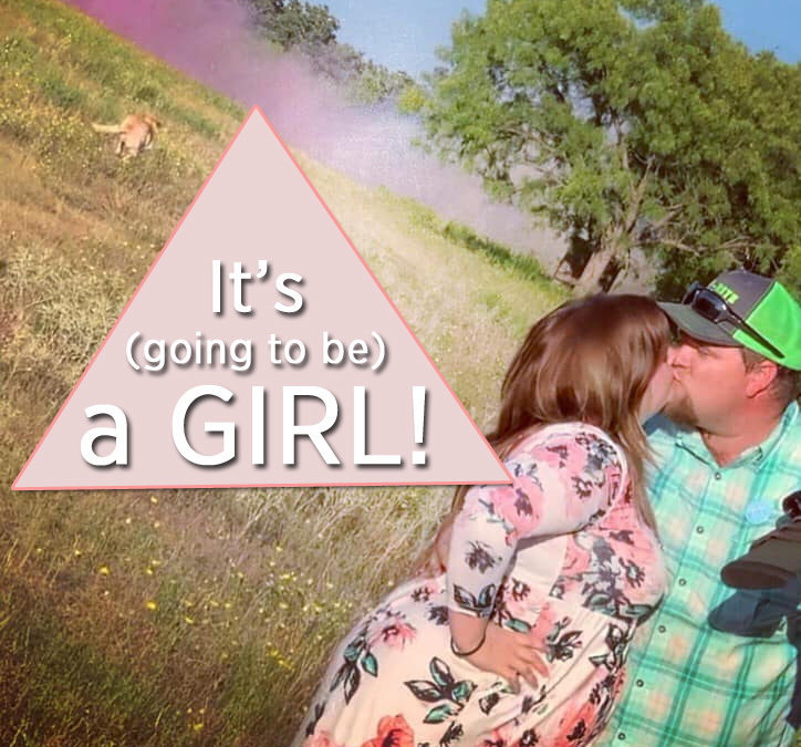 It's going to be a girl!