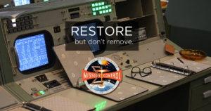 Restore but don't remove