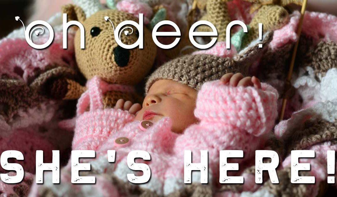 Oh Deer!  SHE'S HERE!