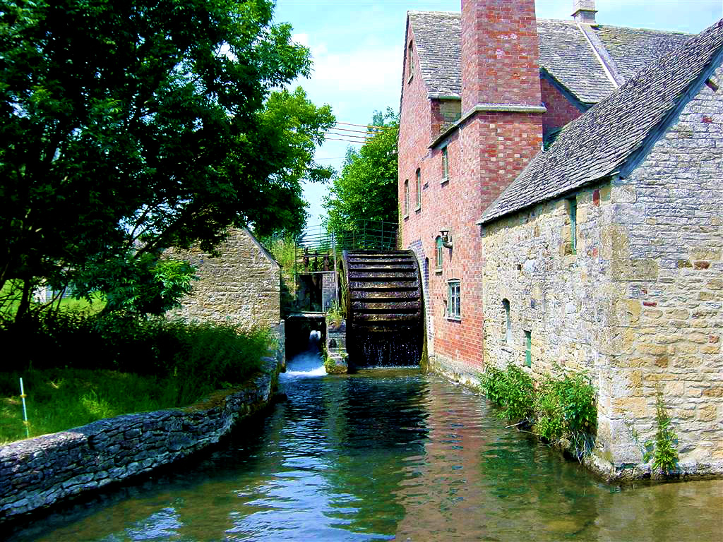 Mill in Lower Slaughter