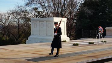 Arlington - Tomb of the Unknown Soldier guards (1)
