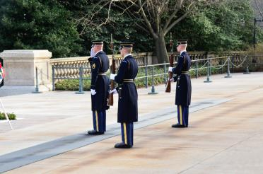 Arlington - Tomb of the Unknown Soldier guards (3)
