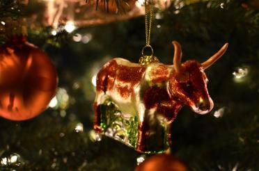 Longhorn tree ornaments 5