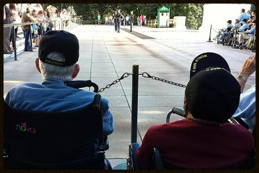 Watching the Changing of the Guard at the Tomb of the Unknown Soldier