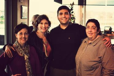 andrew-with-mom-and-aunts-lori-and-lynn