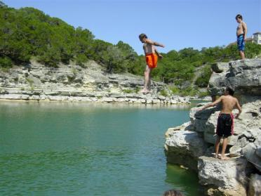 cliff-diving-dad