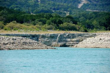 cliff-separating-longhorn-cove