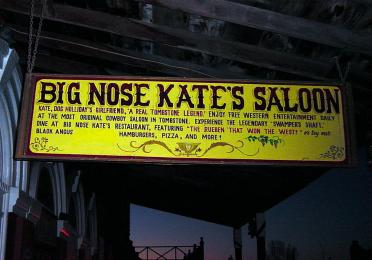 Big Nose Kate's - sign