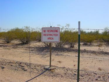 Seriously.  No.  Trespassing.