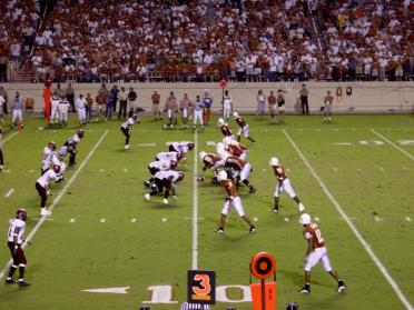 1Sept01 -- UT vs New Mexico State (won 41-7)