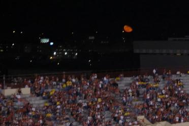 Burnt orange Moon