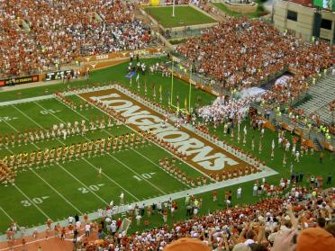 Horns take the field for 2008