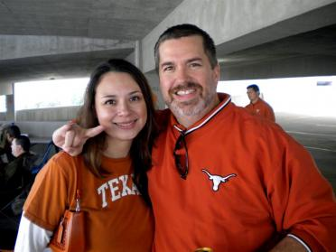 Kelly and Roger - pregame tailgate