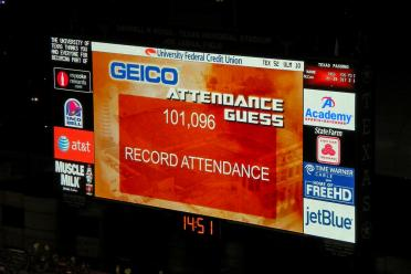 101,096 - another record attendance!