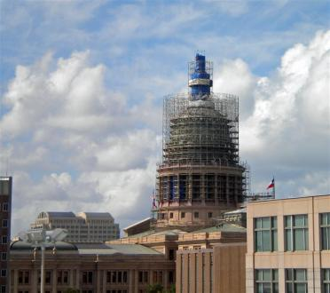 Progress on the Capitol Building