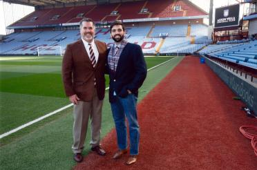 Roger and Andrew - Villa Park