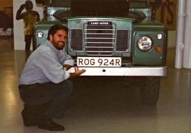 It's MY Land Rover - the plate says so!