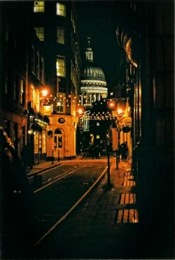 St. Paul's - down the street