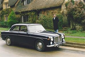 Roger and 1965 Rover - Cotswolds tour