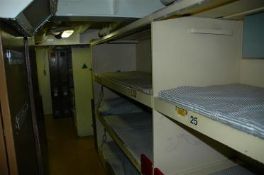 Enlisted bunks
