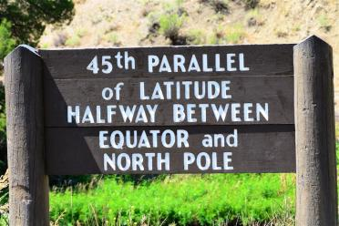 45th Parallel!