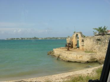 Christopher Columbus's landing spot
