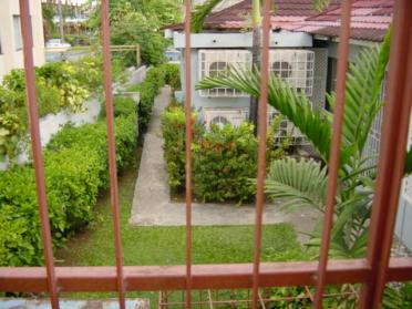 Gated garden in Ocho Rios