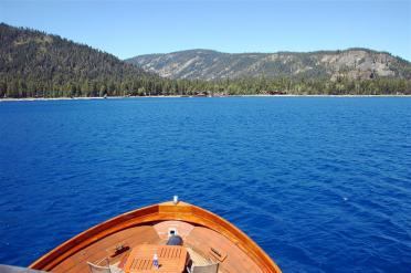 Lake Tahoe West Shore cruise