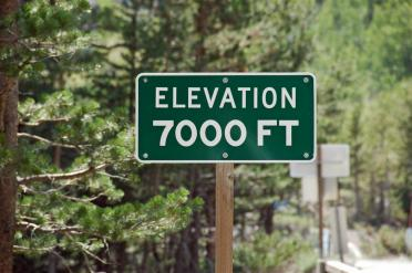 Elevation 7000 ft